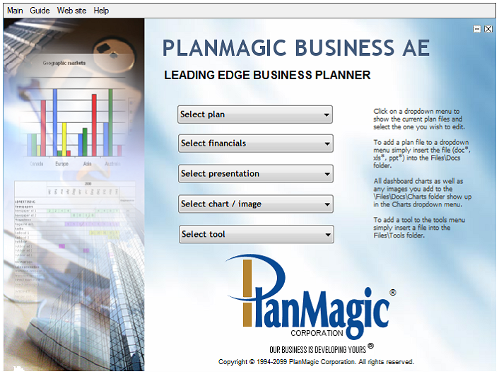 business plan pack
