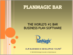 bar bistro business plan