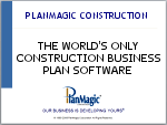 utility contractor business plan