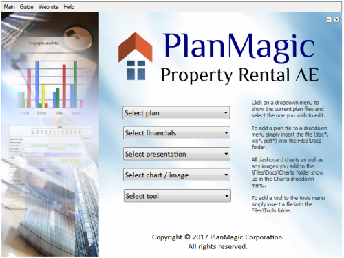 house rental business plan