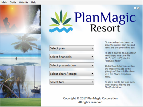 island resort business plan